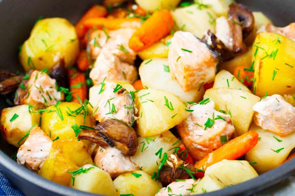 Recetas saludables con pescado: Salmón al horno
